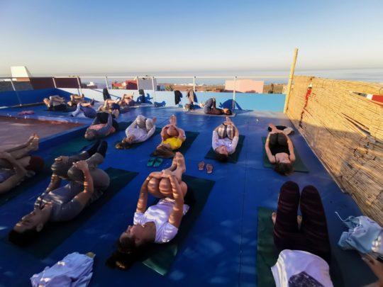 Yoga Surf Taghazout Moroco