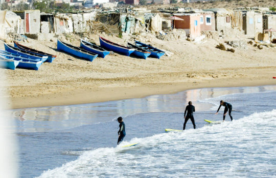 Beach Breaks Devil's Rock Morocco